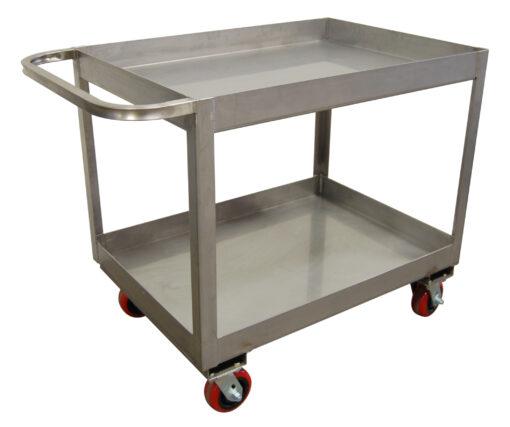 Stainless Steel Custom Cart- 2 shelf