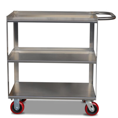 3 Shelf Stainless Steel Cart