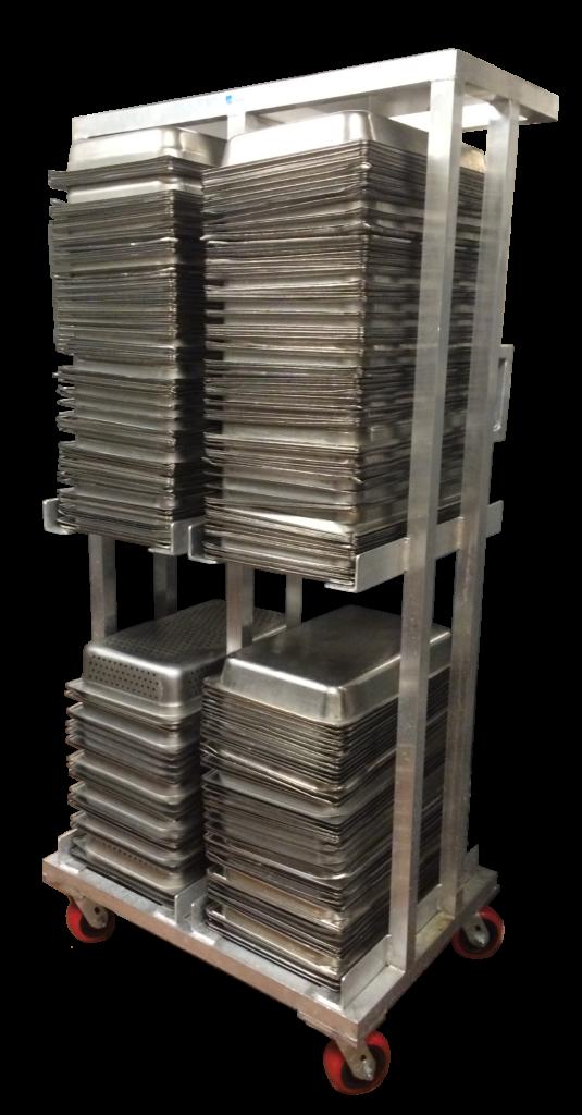 Vegetable Storage Pan Rack
