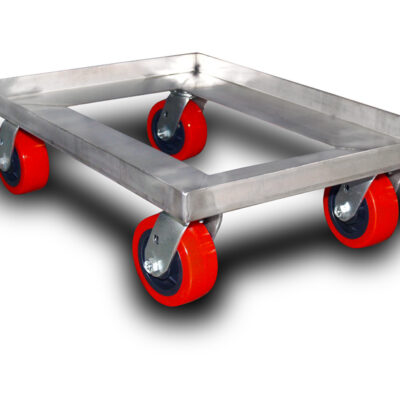 """Sheet Pan Dolly with 5X2"""" Casters"""