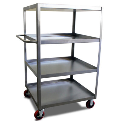 4 Shelf Stainless Steel Utility cart
