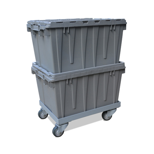 Closed Lid Buckhorn Container Dolly