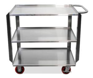 Stainless Steel 3 three shelf cart